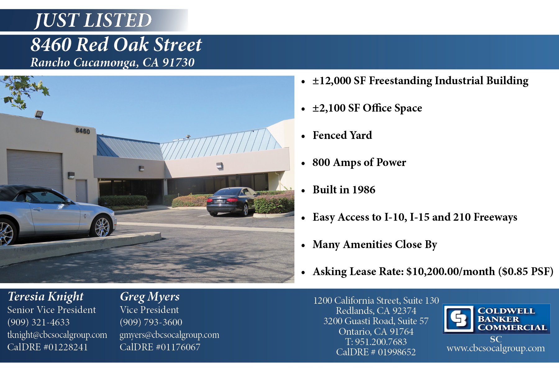 Just Listed! 12,000 SF Industrial Building