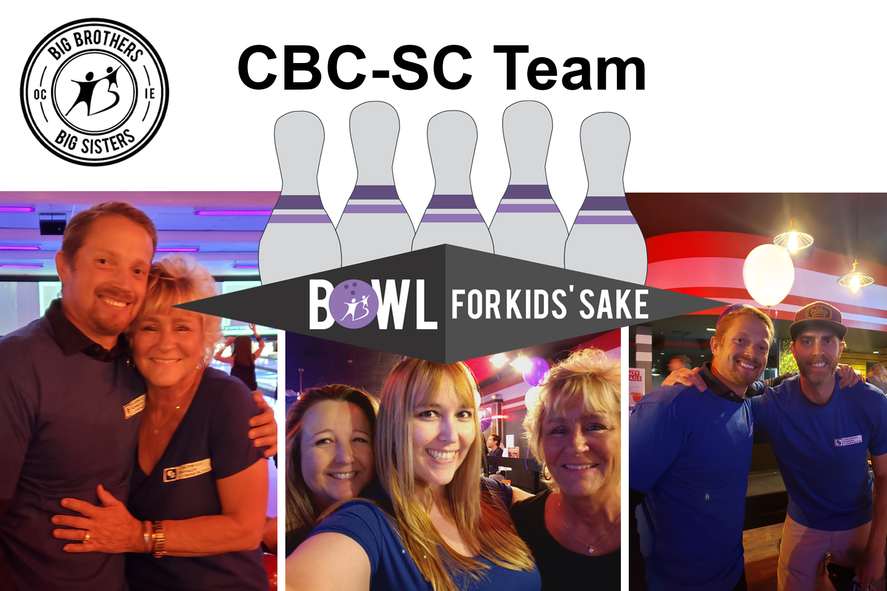 Coldwell Banker Commercial Participated in the Big Brothers Big Sisters Bowl for the Kids' Sake Benefit