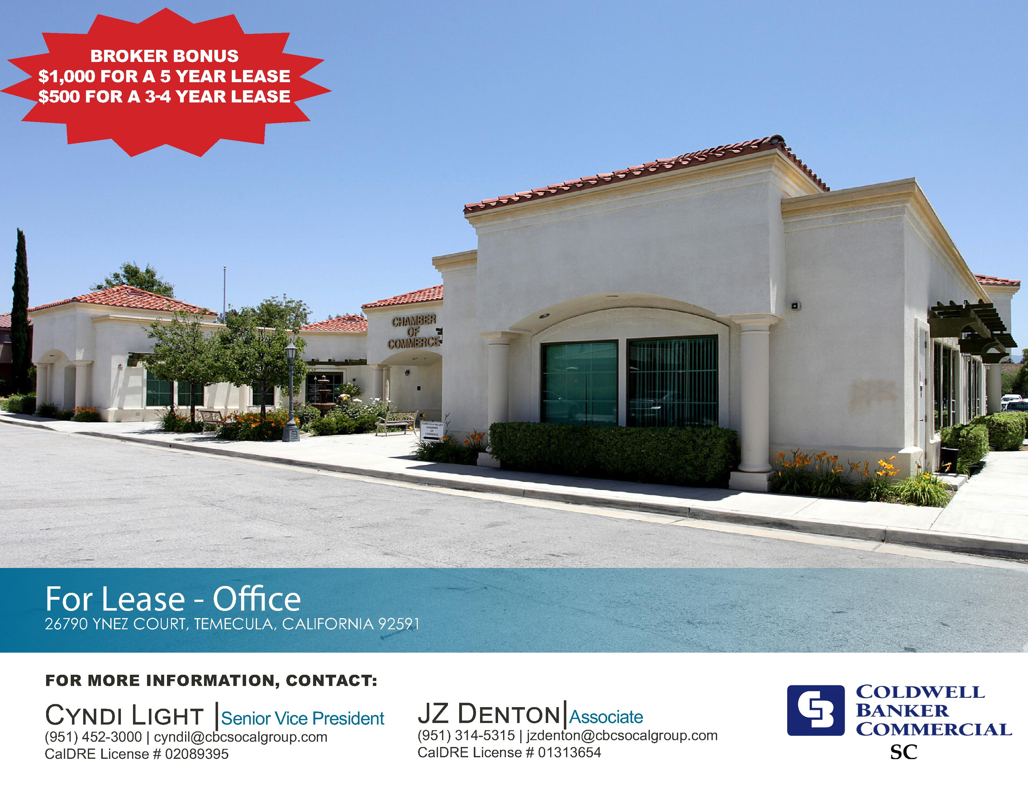 FOR LEASE! ±1,838 SF Office Suite